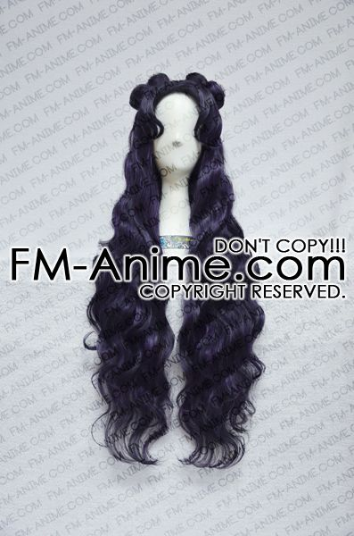 Sailor Moon Luna (Human Form) Cosplay Wig
