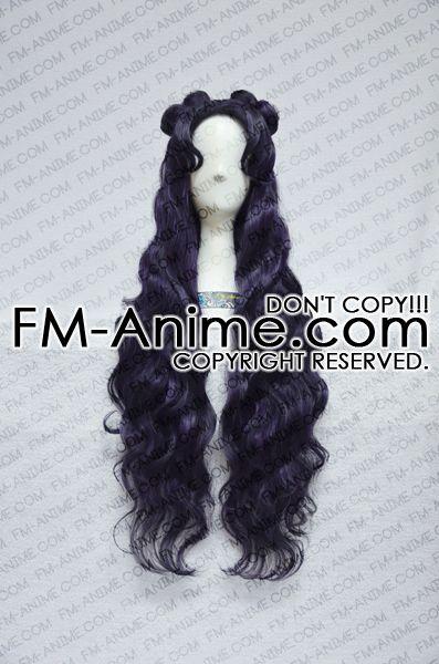 Sailor Moon Luna (Human Form) Cosplay Wig