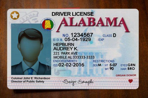 Alalabama Driver License Psd Template High Quality Photoshop Template Id Card Template Drivers License Psd Templates
