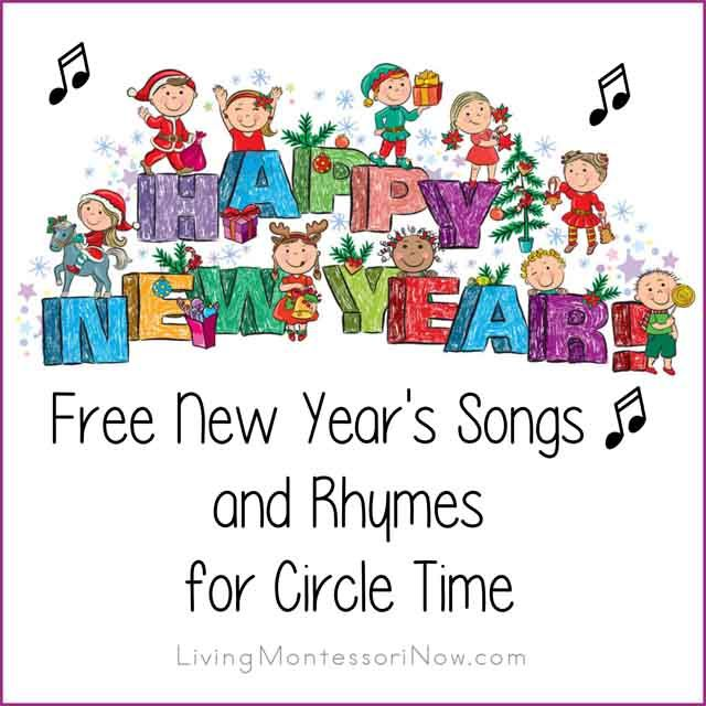 Check out these free New Year's songs and rhymes, which work perfectly for the New Year's holiday ... many work well throughout the beginning of the year. YouTube New Year's songs along with song lyrics from around the blogosphere; a variety of songs for preschoolers through elementary-age kids