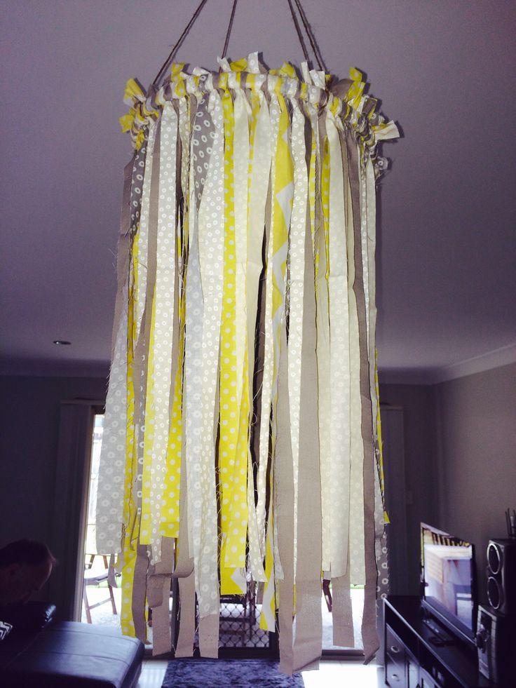 Material chandelier
