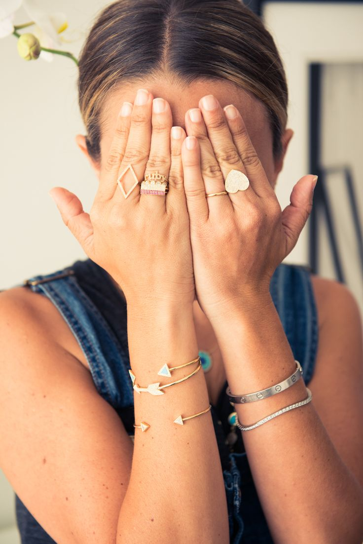 Peek-ing at Jennifer Meyer's serious collection of all things beautiful. http://www.thecoveteur.com/jennifer-meyer-jewelry-designer/
