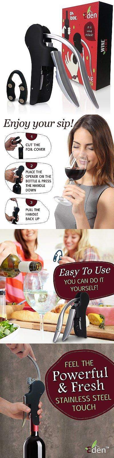 Corkscrews and Openers 20688: Screwpull Wine Opener, Rabbit Style, Effective Vertical Corkscrew With Foil By -> BUY IT NOW ONLY: $53.42 on eBay!