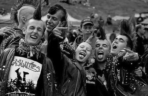 influence of punk rock in society The approach is one of cultural history rather than history of music: the focus is on  what  indeed, the theatricality of glam rock, heavy metal or punk rock, the.
