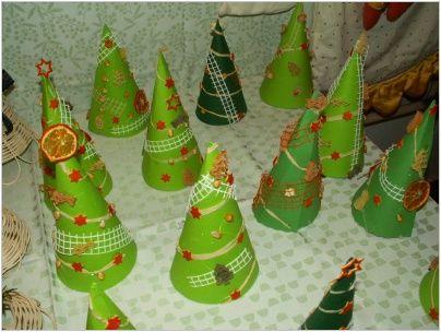 výrobky dětí na vánoce