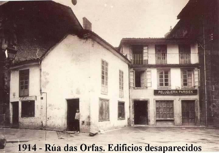 Fotografías antigas de Santiago de Compostela.