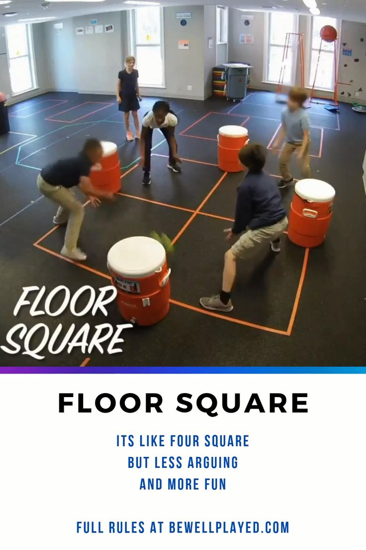 It's Four Square without the arguing!! When the ball is on
