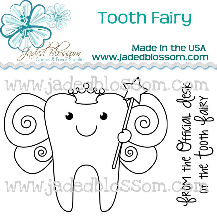 Tooth Fairy Stamps! Available for purchase 6/8/12 at 8am PST www.jadedblossom.com    Jaded Blossom: Release day 4 - Tooth Fairy!!