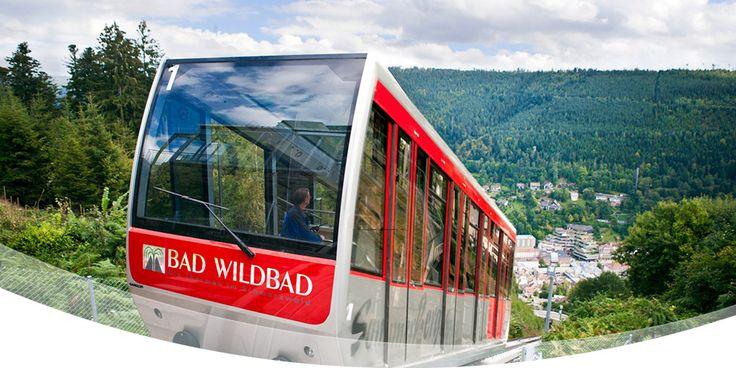 Berg- und Talstation - Sommerbergbahn Bad Wildbad