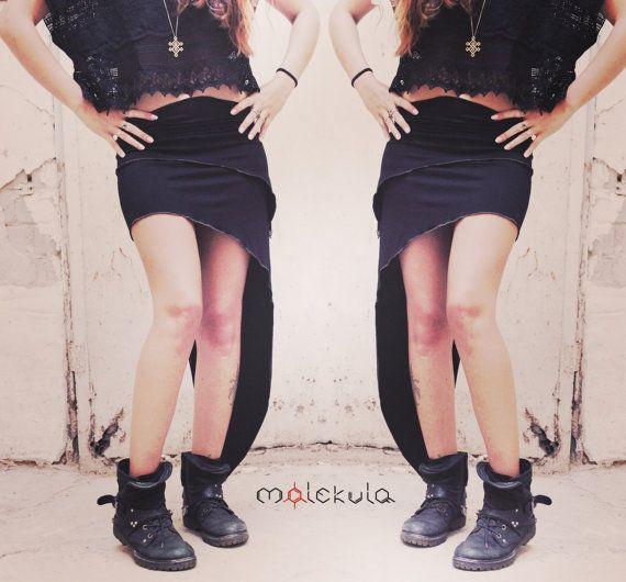 Sexy Rock schwarzer Rock Zigeuner Kleidung von MoLeKuLa auf Etsy