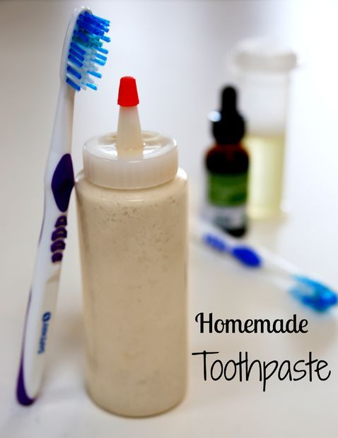 How to Make Toothpaste 3 tbsp Baking Soda 2 tbsp Boiling Water 1/2 cup Coconut oil 1 tsp Peppermint leaf extract (or any natural extract like cinnamon or clove etc.) Use blender, food processor, or hand beater Use squeeze bottle or mason jar for finished product