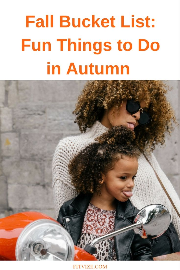 Autumn is not only about constant rain and post-summer sadness. It's also about bright colours outdoors, warm cocoa and cozy blankets, and so many really fun things to do! Just follow our guide, check off items as you complete them, and then add your own favourite activities! https://fitvize.com/2016/10/07/fall-bucket-list-fun-things-to-do-in-autumn/