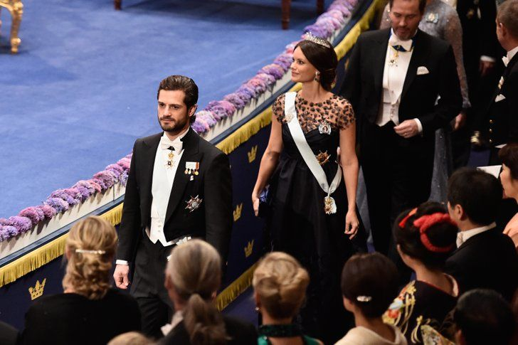 Pin for Later: Princess Sofia Dresses Up Her Baby Bump in a Stunning Gown With Unexpected Detail