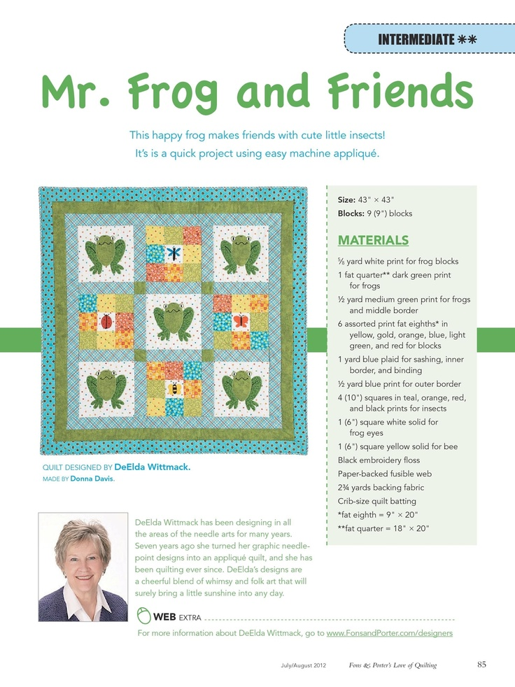 1000 Images About Frog Quilts On Pinterest Hexagons