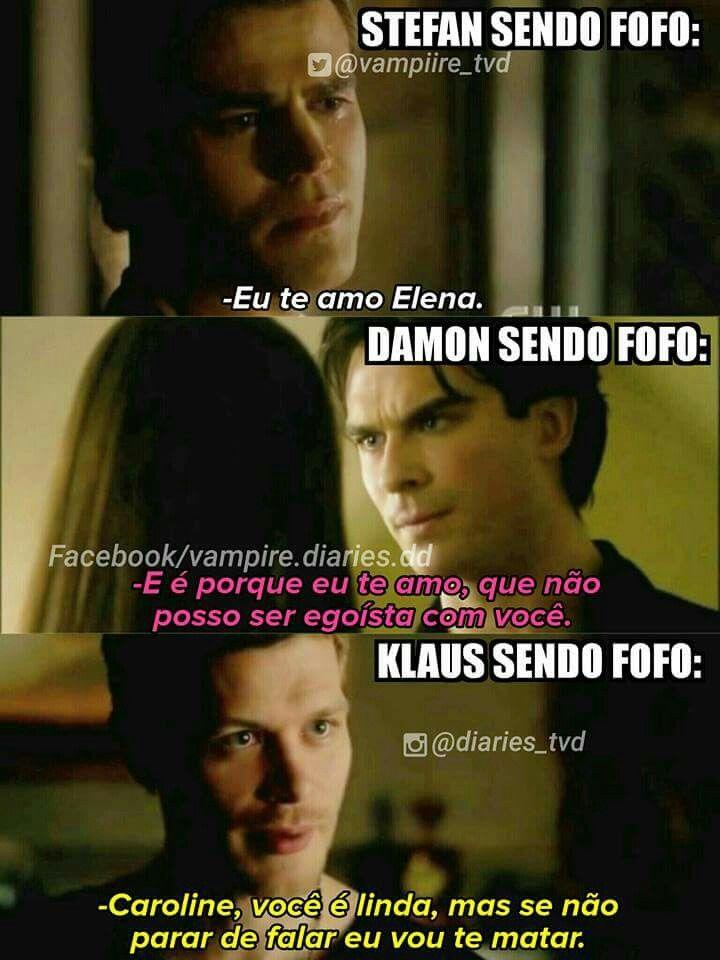 Klaus sendo Klaus! ❤