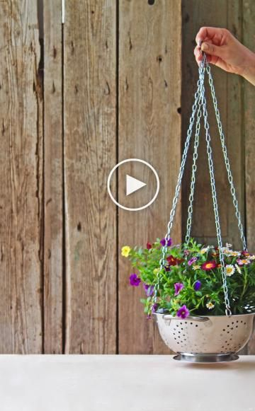 154 besten DIY, Upcycling \ life hacks Bilder auf Pinterest - blumenampel selber machen hangekorb