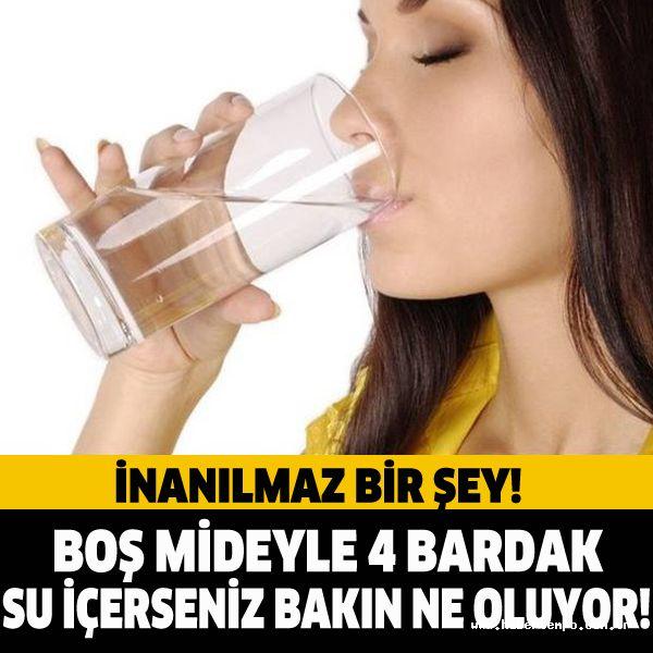 Boş mideyle 4 bardak su içince bakın neler oluyor? #sağlık #saglik #sağlıkhaberleri #health #healthnews @saglikhaberleri