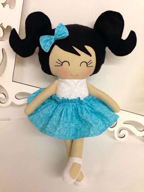 Muñecas hechas a mano suave muñeca muñecas por SewManyPretties
