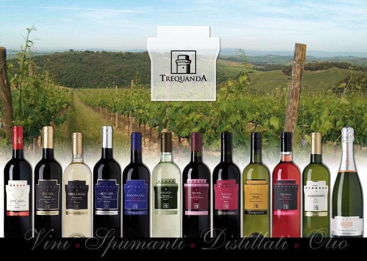 Azienda Agricola Trequanda | brand identity
