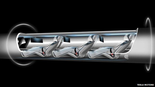BBC News - Could a near-supersonic tube be the future of transport? Leon Musk - founder of pay pal (inventor) sounds incredible.