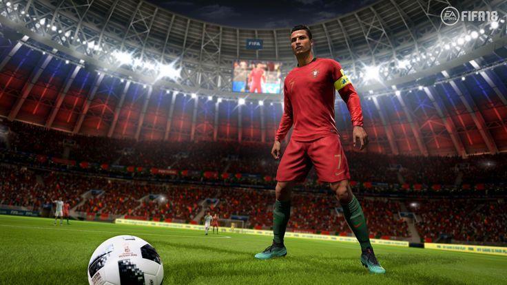 Ronaldo Fifa 18 4k Sports Wallpapers Hd Wallpapers Games Wallpapers Football Games Https Youtube Com Ogysoft Com P 59665 Fifa Dunya Kupasi Futbol