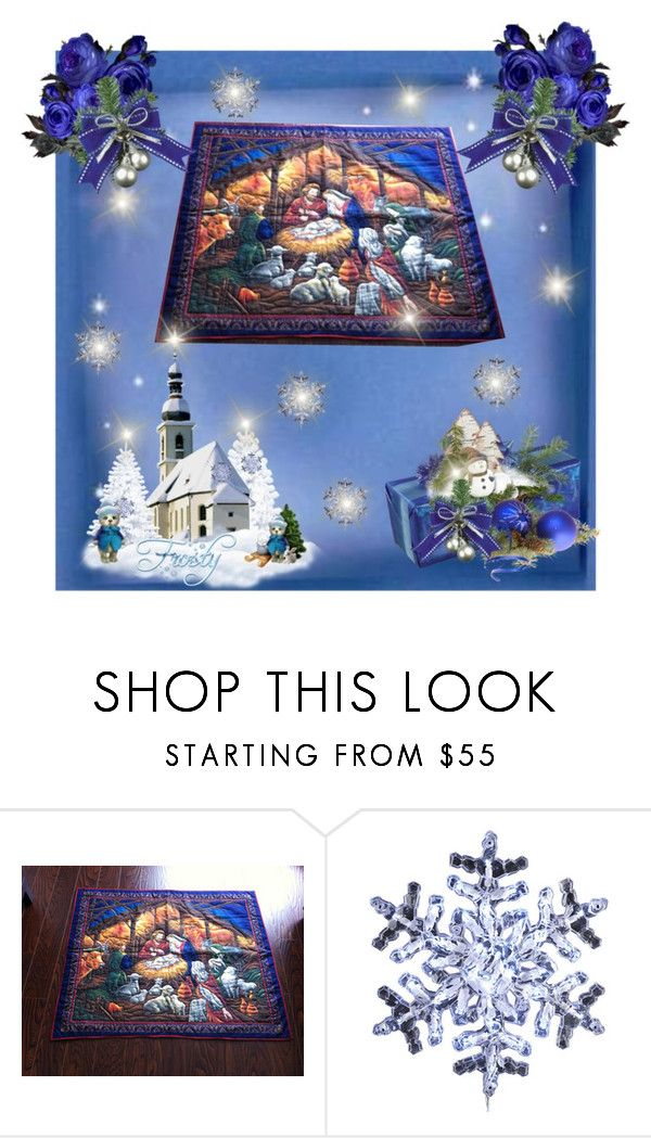 Nativity Wall Hanging by bamasbabes on Polyvore featuring Kurt Adler