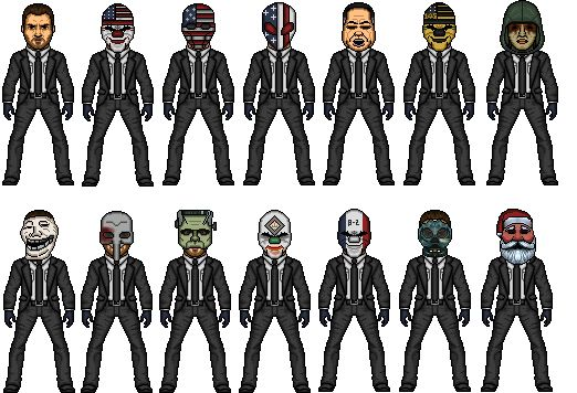 Image result for payday 2 dallas