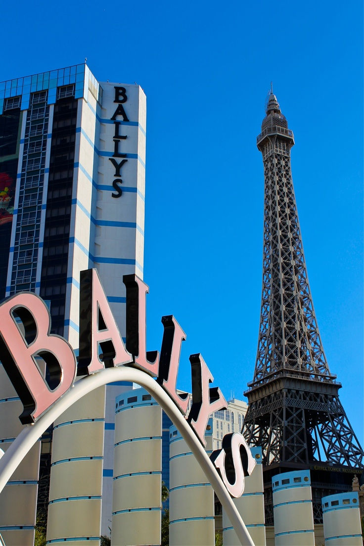 The first hotel I stayed at in Vegas....Ballys. Las Vegas Strip