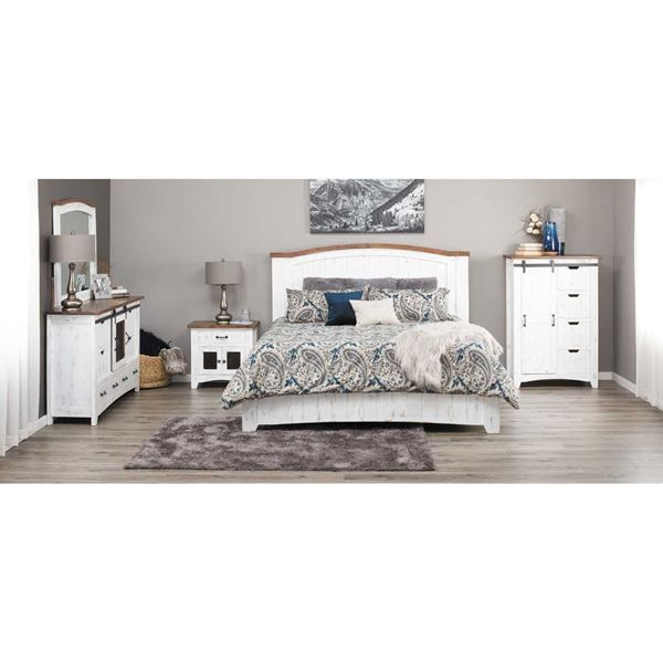 pueblo white 5 piece bedroom set new master bed bath 5 piece rh pinterest com