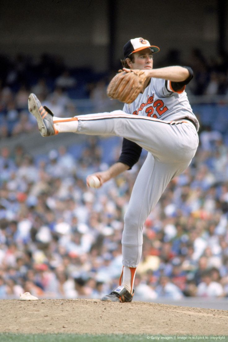 Jim Palmer. Poetry in motion. Brains to match.