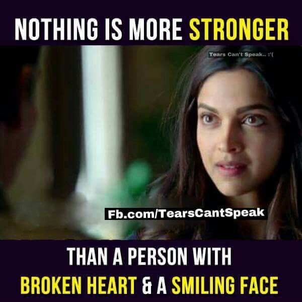 Srsly ... Nothing is more stronger than this :(