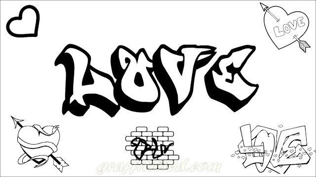 Graffiti Ausmalbilder Love Graffiti Buchstaben Ausmalbilder Zum Ausdrucken Ausmalbilder Zum Ausdrucken Kostenlos