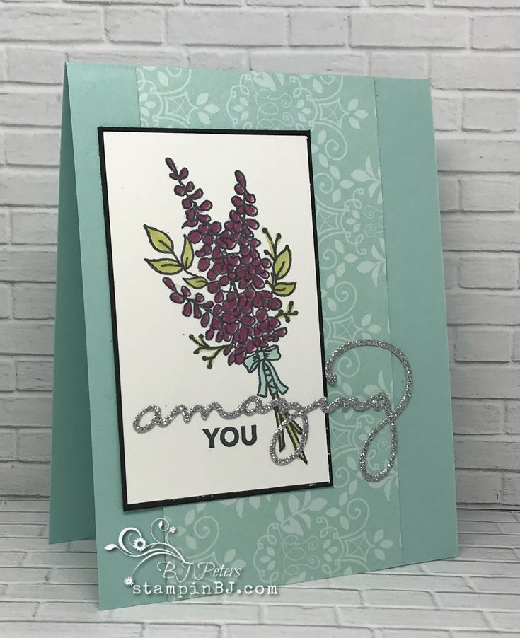 Lots of Lavender - a free choice during Sale-a-Bration!  #StampinBJ.com