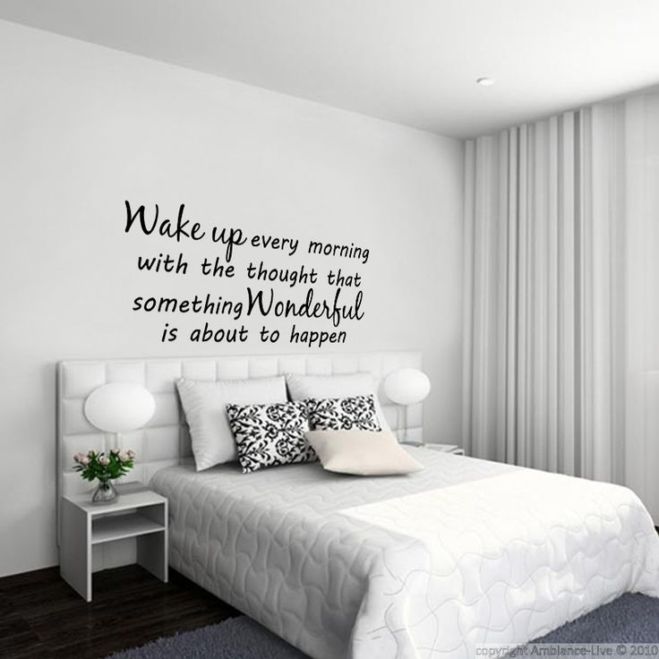Sticker something wonderful with ambiance chambre adulte for Ambiance chambre adulte