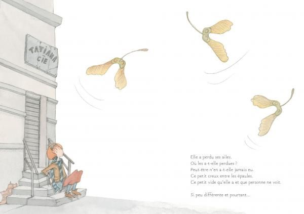 La Fée sans ailes - Martine Delerm | Editions Seuil Jeunesse