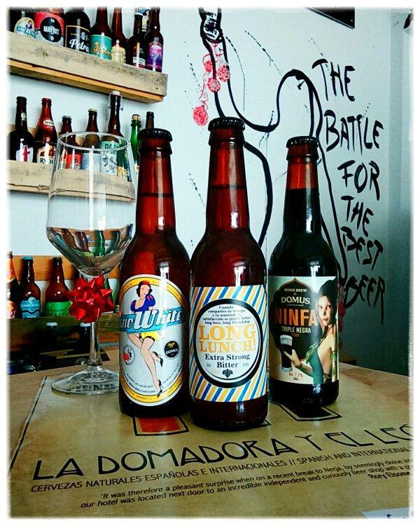 #CervezasArtesanales #craftbeer  de #Toledo #Spain for/ para #Distribution #Distribución #Domus