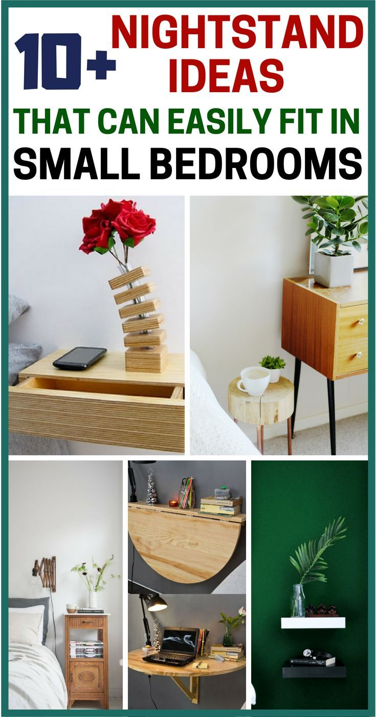 10 nightstand ideas perfect for a small bedroom organizing rh pinterest com