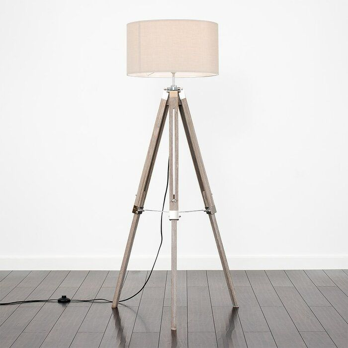 Chiverton 147cm Tripod Floor Lamp Curved Floor Lamp Beautiful Floor Lamps Floor Lamp Base