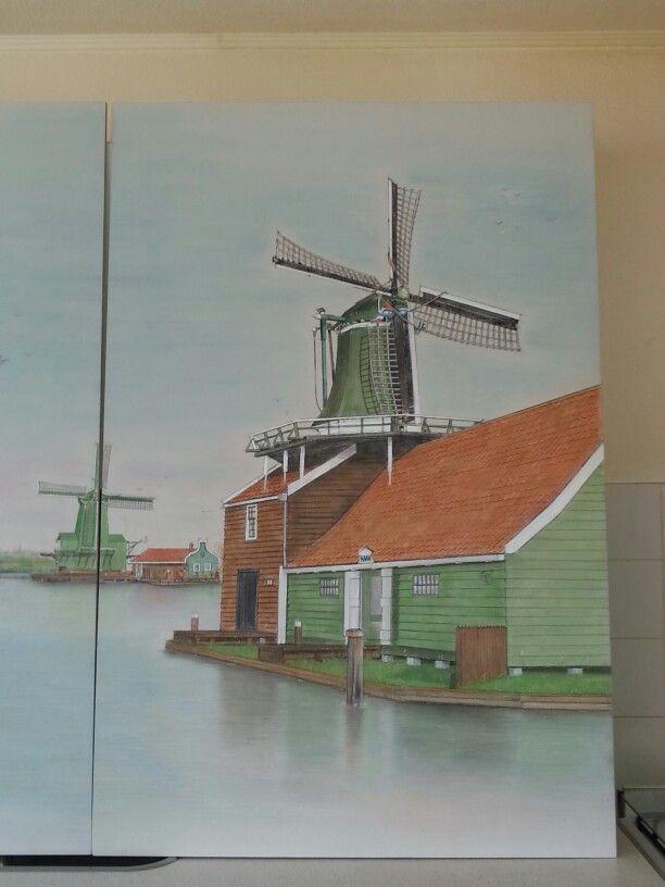 Painting made by Pieter van der Schoor