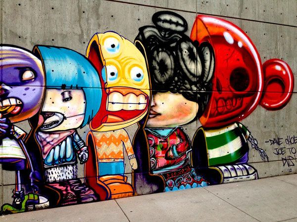 David Choe, DVS-1, and Joseph To