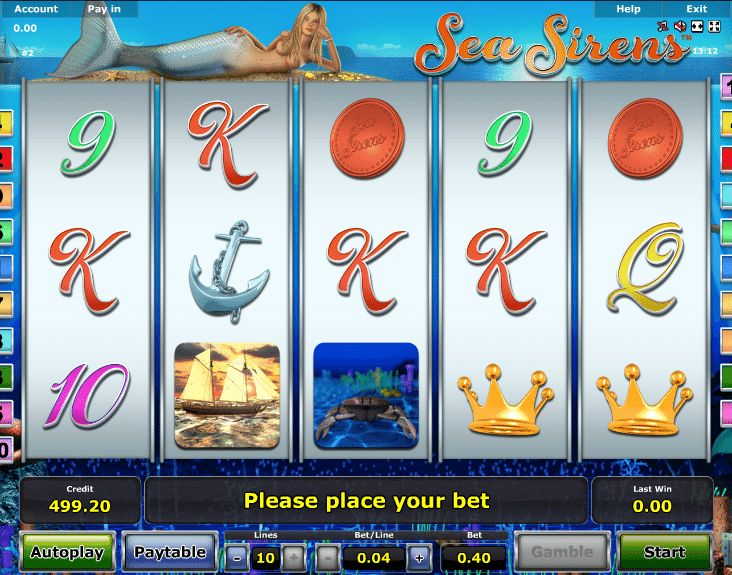 Sea Sirens - http://www.777free-slots.com/free-slot-machine-sea-sirens/