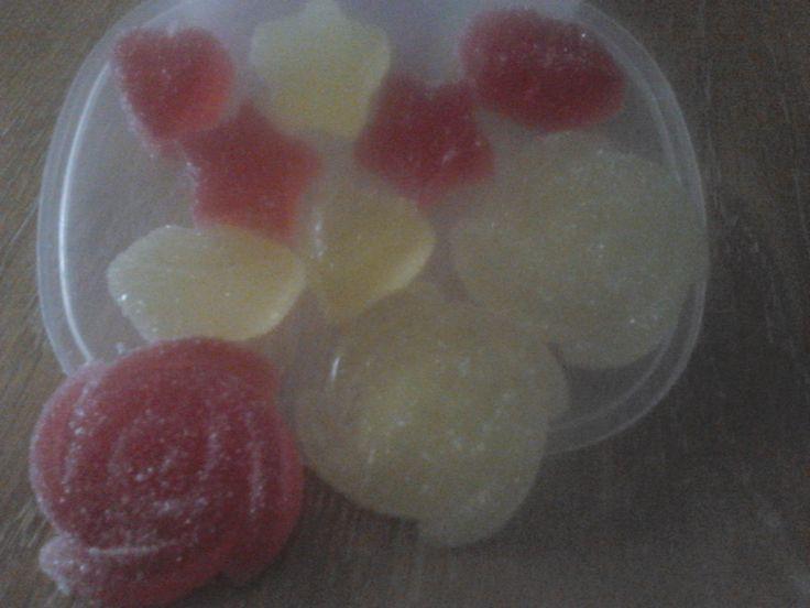 chuches de gelatina, riiiiquisimas, hechas a mano
