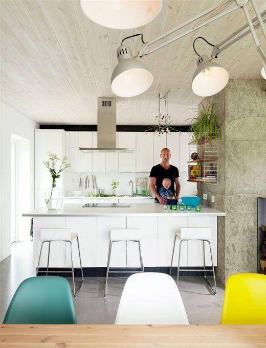 Self-Designed Swedish House