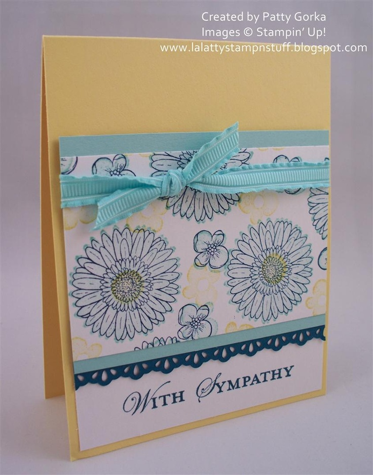 by Patty Gorka, LaLatty Stamp 'N Stuff: Cards Su Reason, Reasons To Smile, Sympathy Cards, Cards Ideas Tuts Tips Etc, Cards Reason, Lalatty Stamp, Card Ideas, Smile Cards