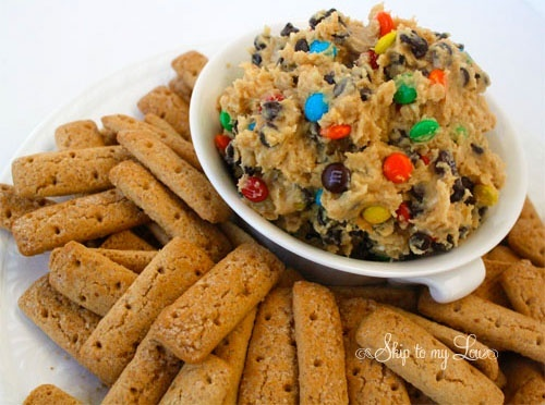 Monster Cookie Dough Dip - the Healthy Version: Cookies Dough Dips, Monstercooki, Brown Sugar, Cookies Dips, Food, Recipes, Cookie Dough Dip, Monsters Cookies Dough, Monster Cookie Dough