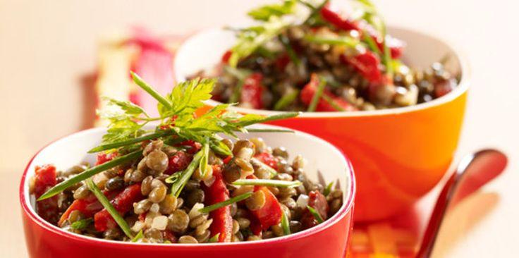Salade de lentilles au chorizo