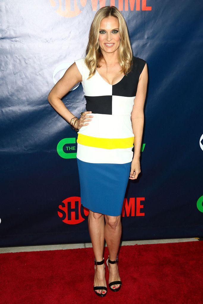 "Vinessa Shaw ""TCA Summer Tour"" in SS 2014 Cassiopea Dress."