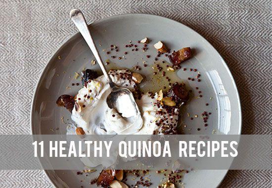 Food: Eleven Healthy Quinoa Recipes
