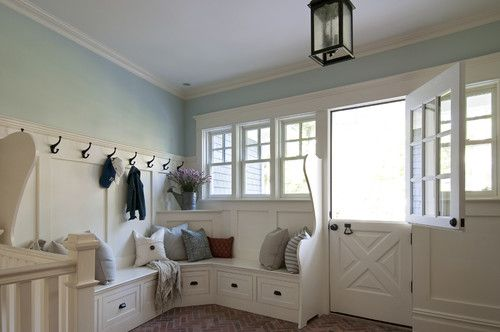 Mudroom - traditional - entry - newark - Anthony James Construction