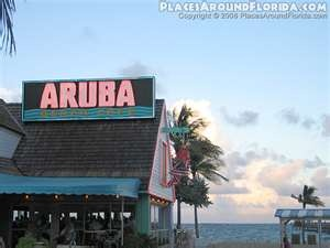 Aruba's in Lauderdale by the Sea - Such a fun restaurant - we ate here many times while in Lauderdale by the Sea on a family vacation.